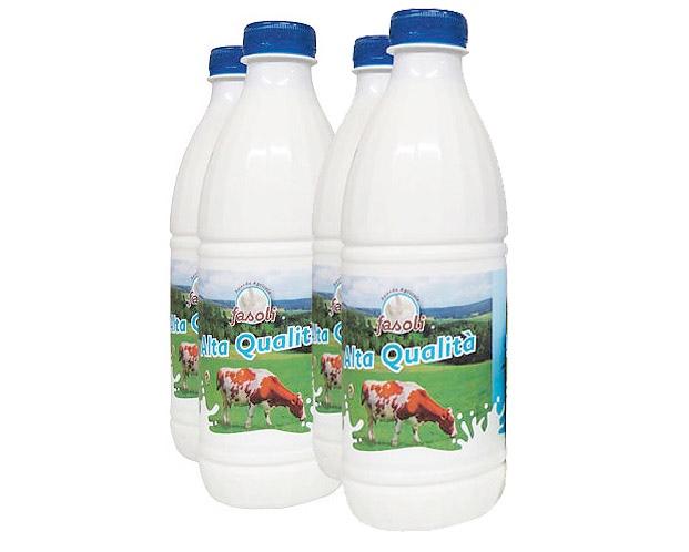 Bottiglie latte